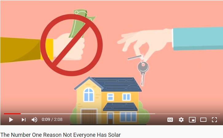 #1 reason not everyone has solar
