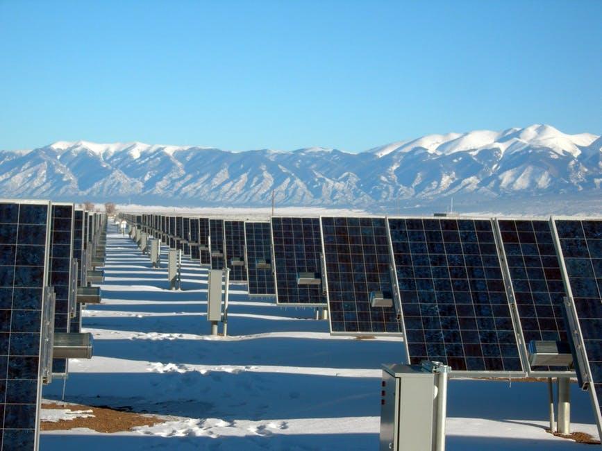solar power in winter
