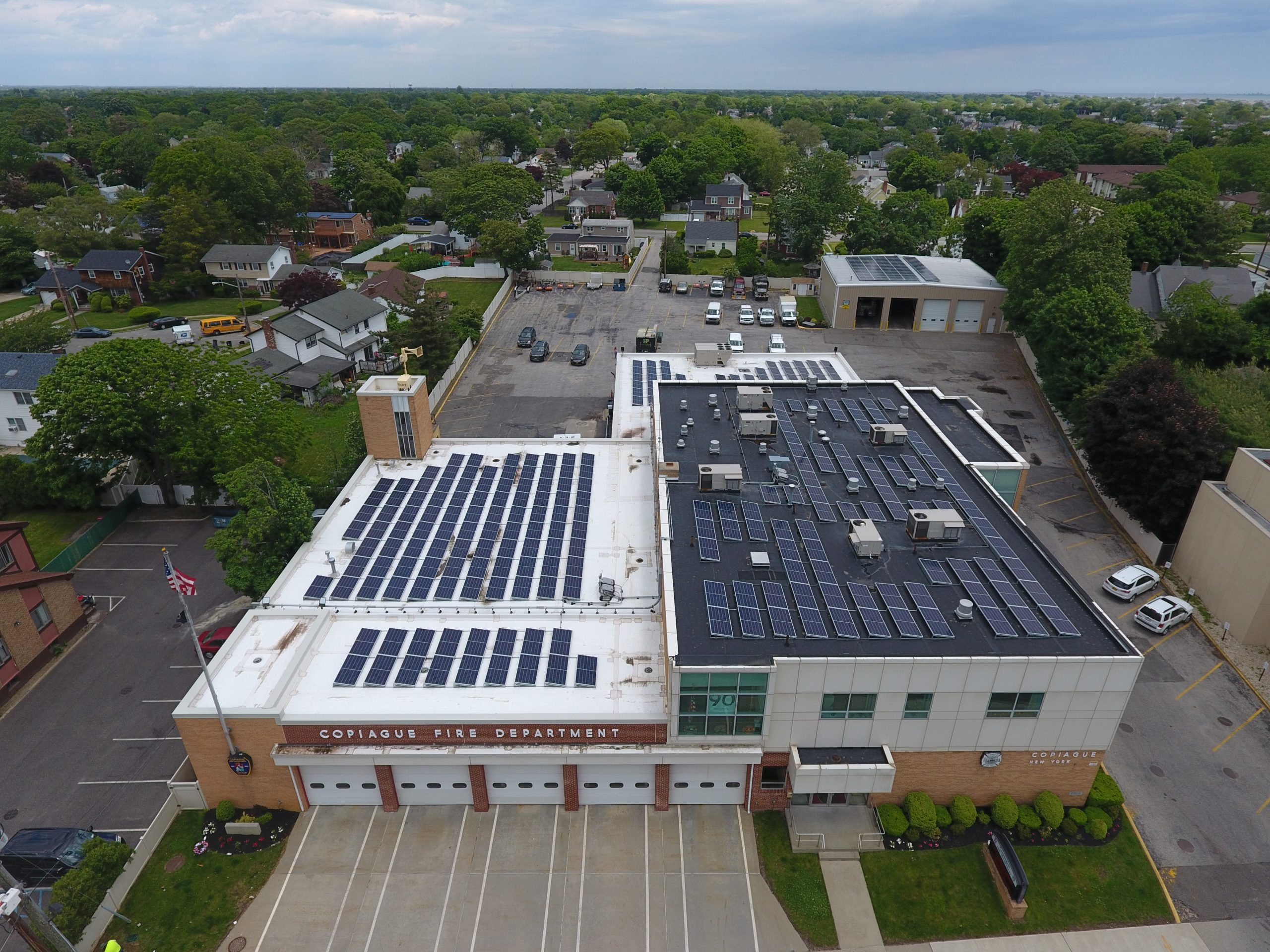 copiague fd solar project