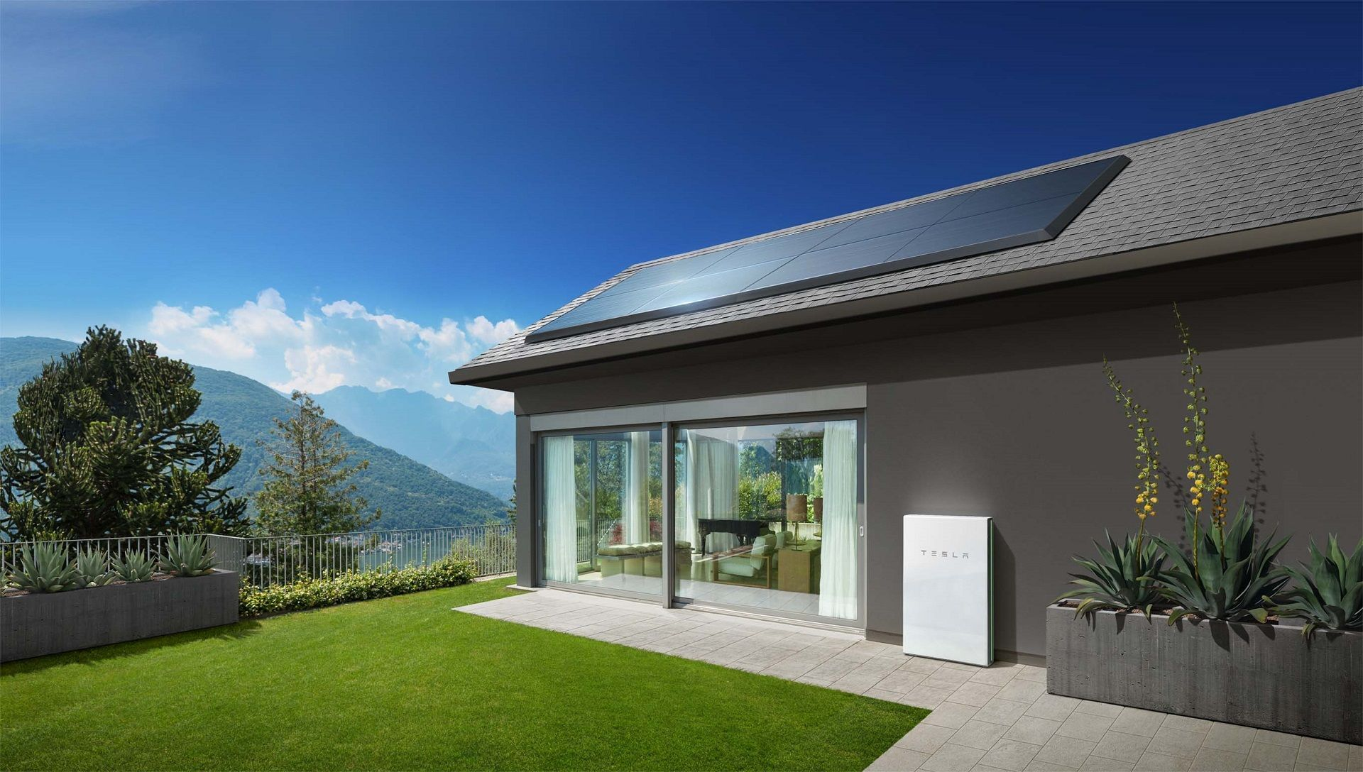 Tesla home batteries