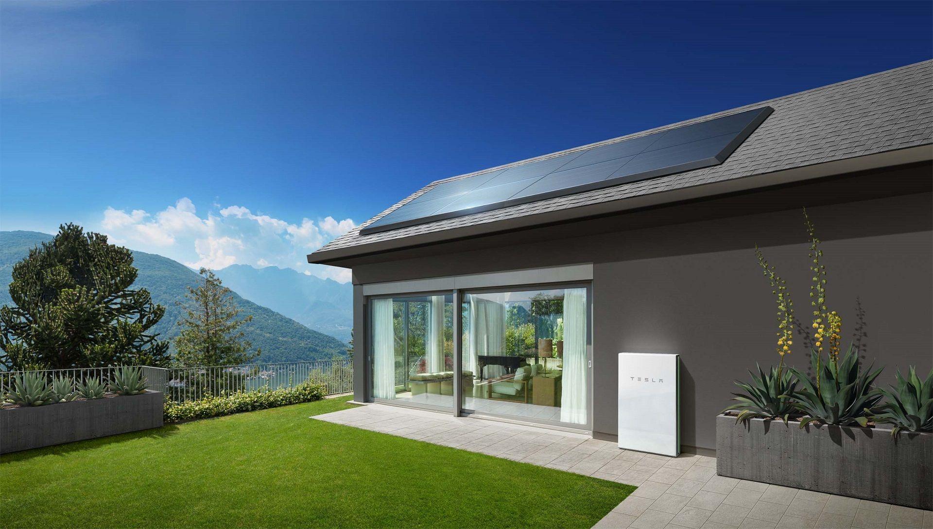 Tesla home batteries