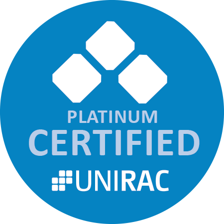 Unirac Certified Platinum Installer